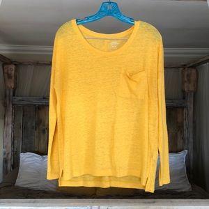 Golden Yellow Boyfriend Sweater